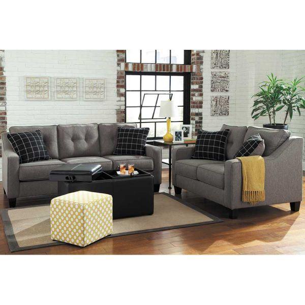 Ashley Furniture Manufacturer: Brindon Charcoal Loveseat PP-539L
