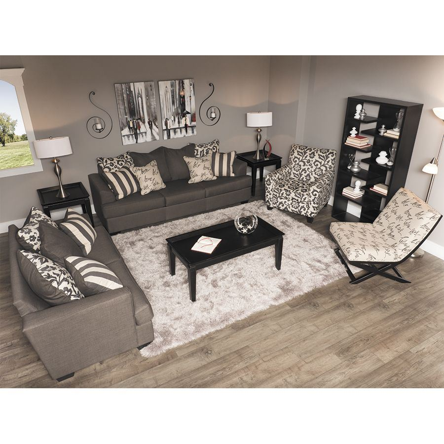 Levon Charcoal Sofa Ll 734 S Ashley 7340338 Afw