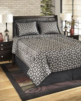 Picture of Maze King Comforter Set *D