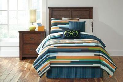 Picture of Seventy Twin Comforter Set *D