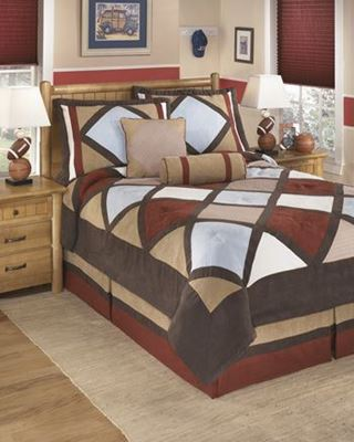 Picture of Academy Full Comforter Set *D