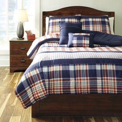 Picture of Milam Full Comforter Set *D
