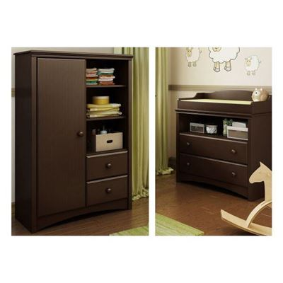 Picture of Angel Changing Table & Armoire *D
