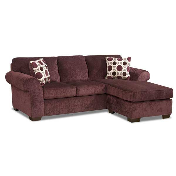 Picture of Prism Elderberry Sofa with Chaise - Prism Ash Sofa Chaise F-5303S Affordable Furniture AFW