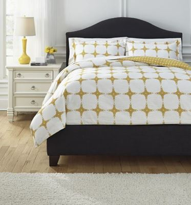 Picture of Patterned Queen Comforter Set *D