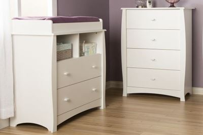 Picture of Beehive Changing Table & Chest *D