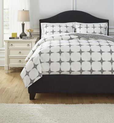 Picture of Patterned King Comforter Set *D