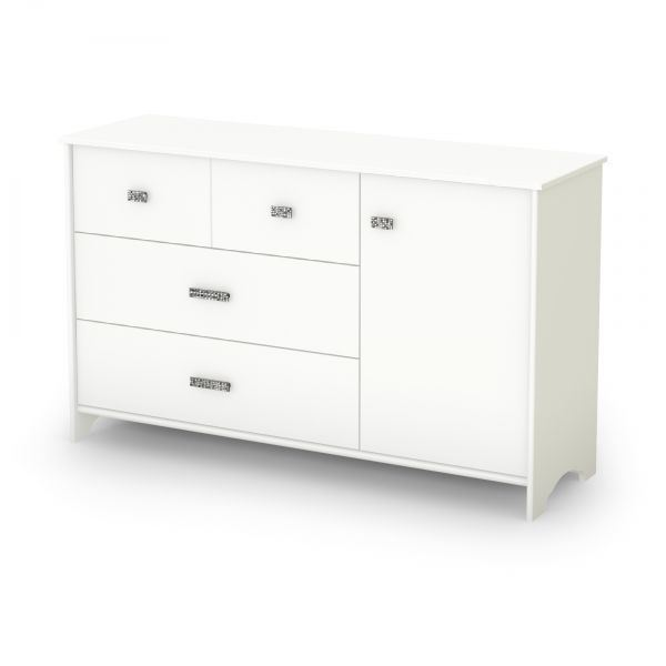 Beau Picture Of Tiara 3 Drawer Dresser W/ Door *D