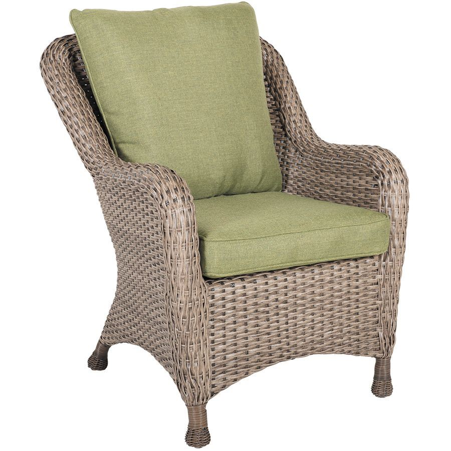 Trinidad Resin Wicker Chair With Cushion T66011 10 Gla3 660011 10 World Source Int Afw