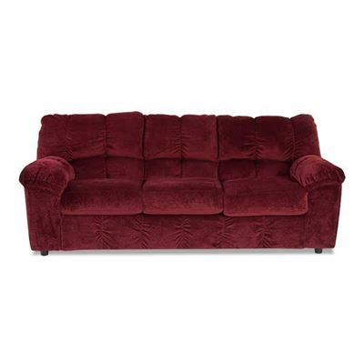 Picture of Burgundy Sofa