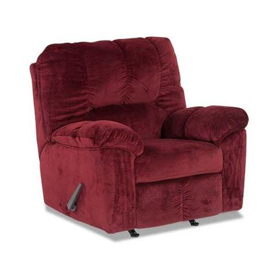 Picture of Burgundy Rocker Recliner