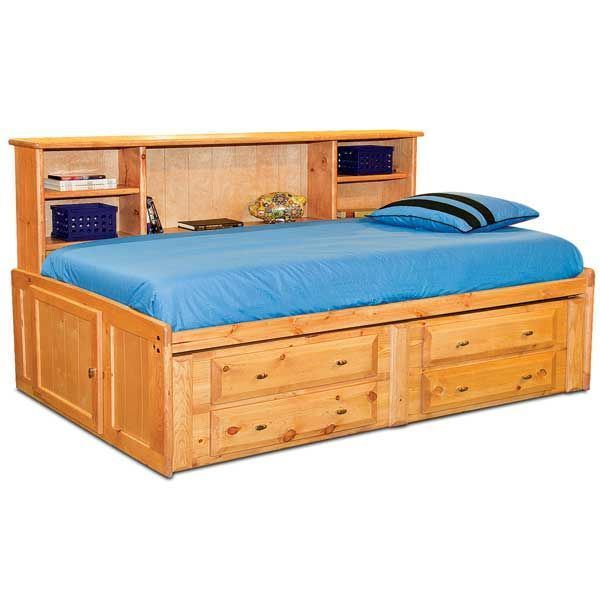 Laguna Full Roomsaver Bed With Underbed Storage Ca