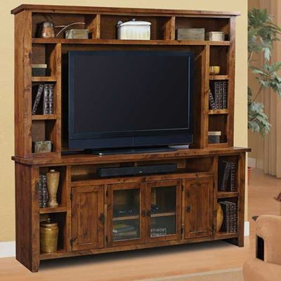 Alder Grove 84 Tv Console And Hutch