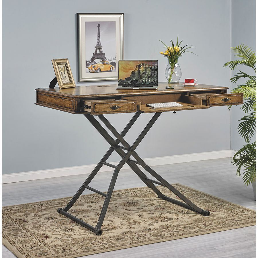 60 Quot Sit And Stand Desk By Turnkey Products American