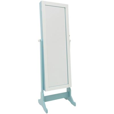 Picture of Blue Jewelry Storage Mirror