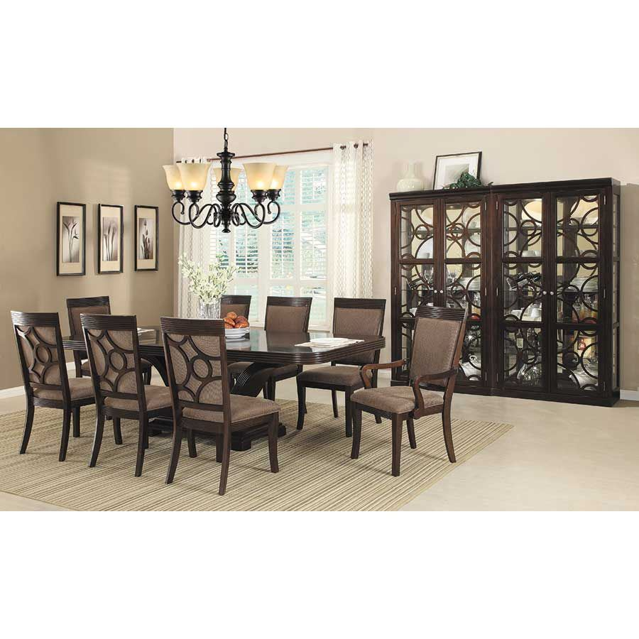 7 piece dining set with leaf liberty piece dining set 66317pc condor manufacturing afw