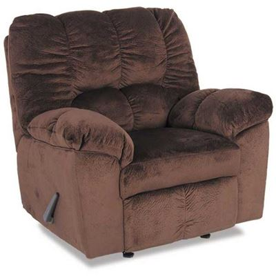Picture of Chocolate Rocker Recliner
