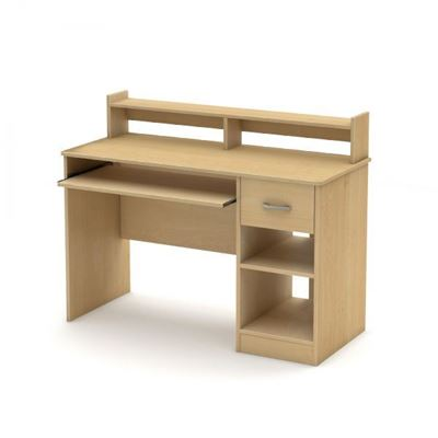 Picture of Axess Desk, Natural Maple *D