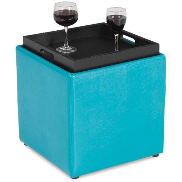 4a 06t Blocks Teal Storage Ottoman With Tray D Bf 06