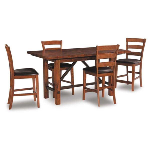 Picture Of Santa Clara 5 Piece Pub Dining Set