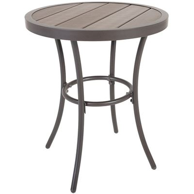 "Picture of 24"" Faux Wood Accent Table"