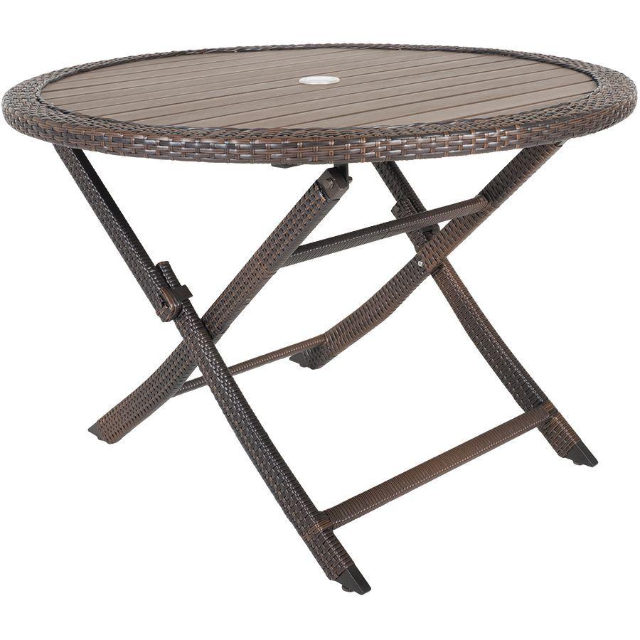 Folding Resin Faux Wood Table Z Gls Tbl Glsm 43 59