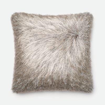Picture of 22x22 Silver Shag Pillow *P