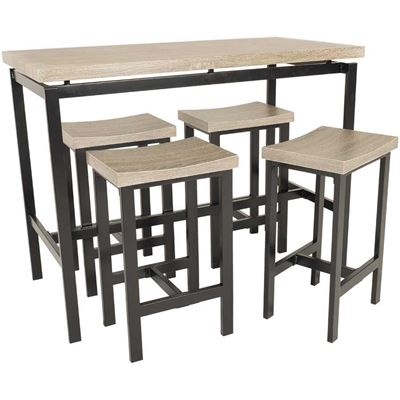 Imagen de 5 Piece Counter Height Set