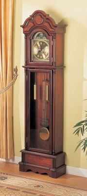 Picture of Grandfather Clock, Brown *D