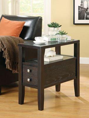 Imagen de Chairside Table, Cappuccino *D