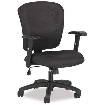 Picture of Black Tilter Task Chair with Arms