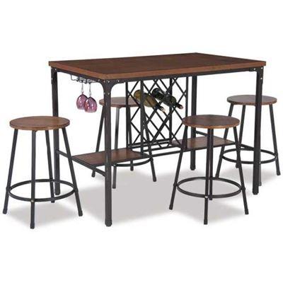Imagen de Napa 5 Piece Counter Height Dinette Set