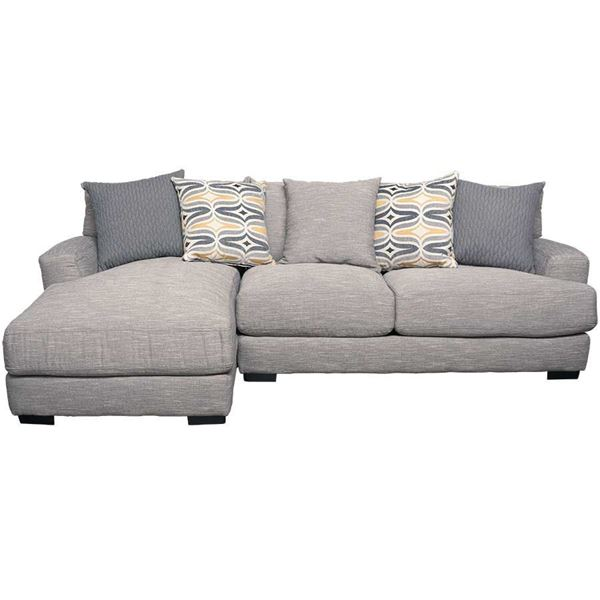 Barton 2pc Sectional With Laf Chaise G 808lc 2pc 80859