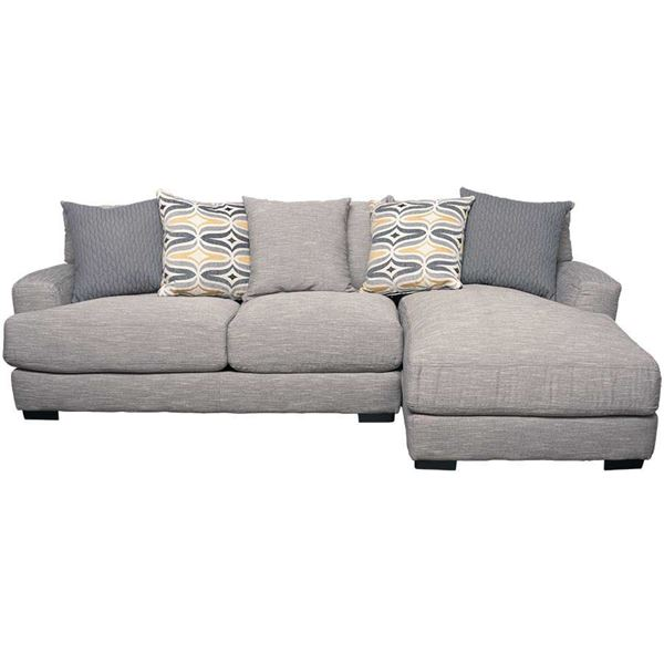 Barton 2pc Sectional With Raf Chaise G 808rc 2pc 80860