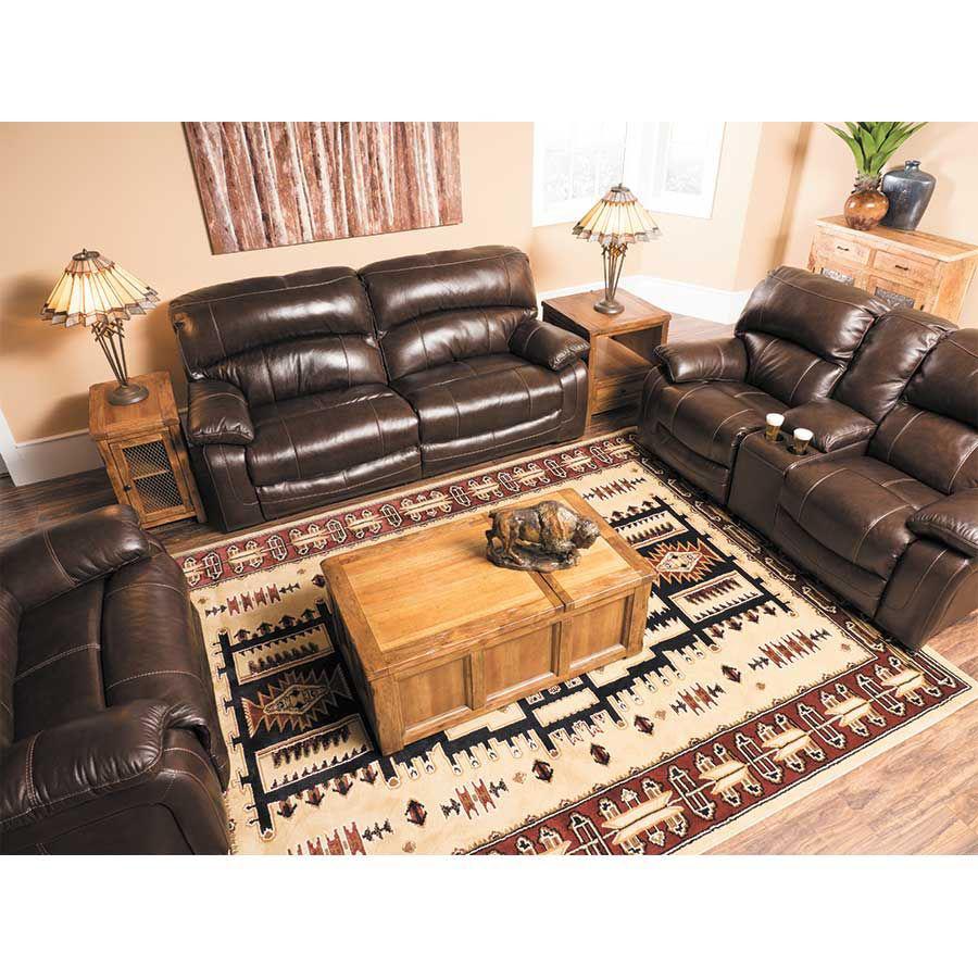 Damacio Leather Power Reclining Sofa 0s0 982prs Ashley Furniture Afw