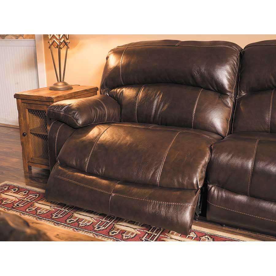 Damacio Leather Reclining Sofa 0s0 982rs Ashley Furniture Afw