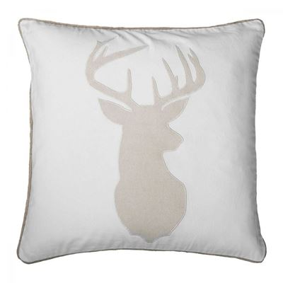 Picture of 20x20 Deer Head Pillow *P
