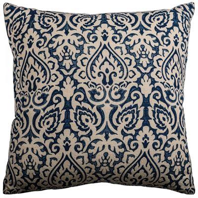 Picture of 22x22 Blue Burnout Pillow *P