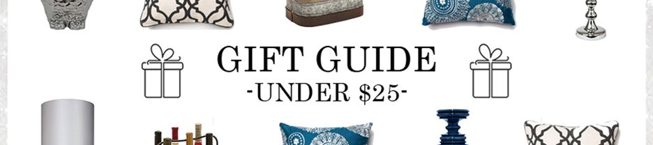 Gift Guide - Under $25