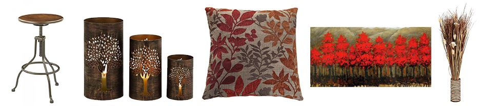 Five Colorful Fall Home Decor Decorating Tips