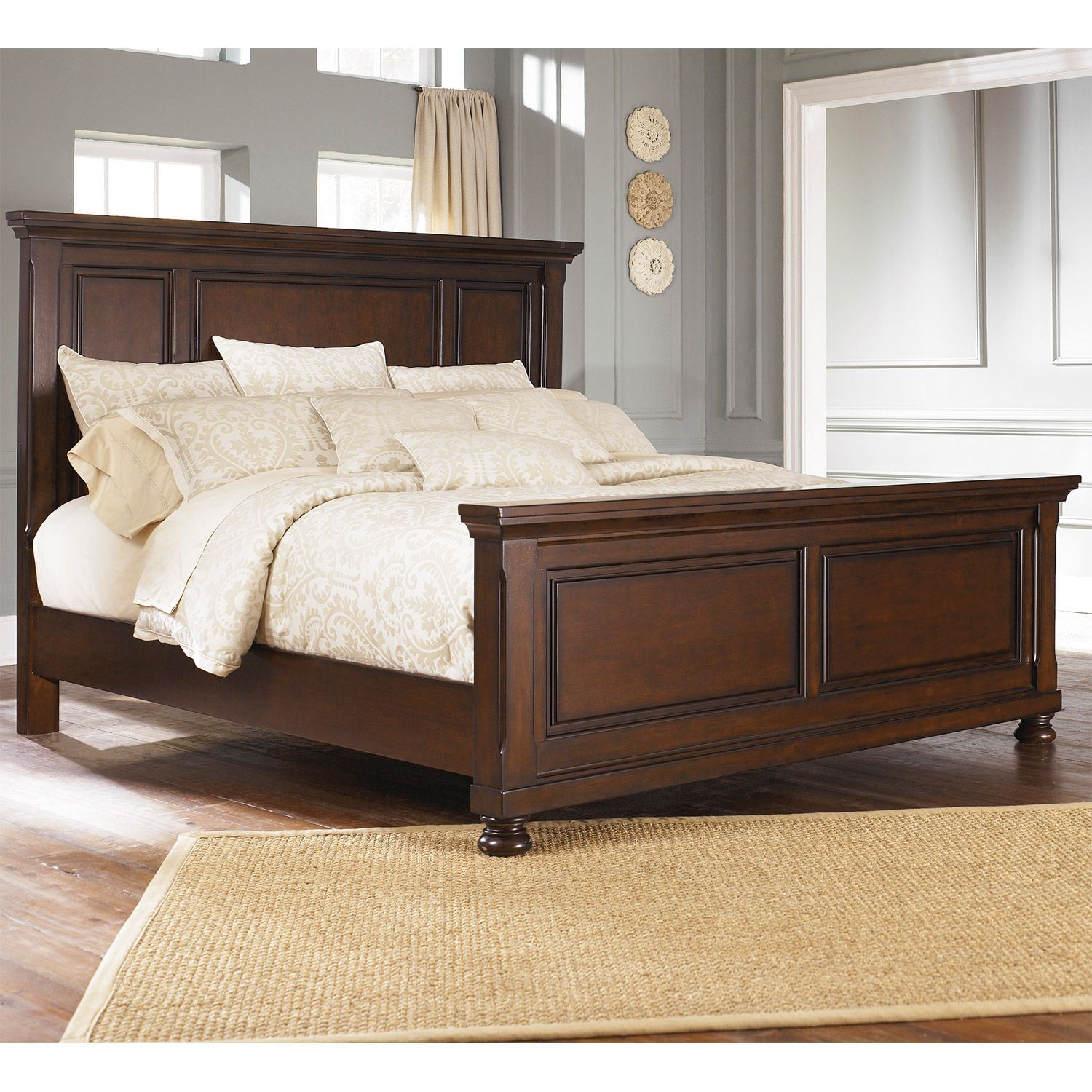 porter king panel bed b697 kpnlbed furniture afw