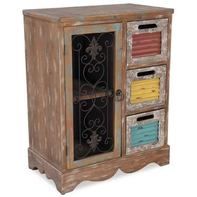 Picture of 3 Drawer 1 Door Chest