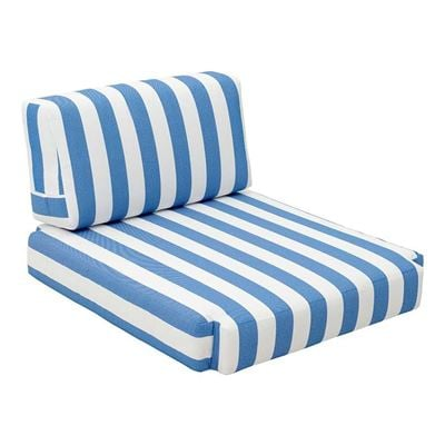 Picture of Bilander Chair Cushion Blue & White *D