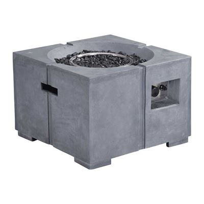 Picture of Dante Propane Fire Pit in Gray *D