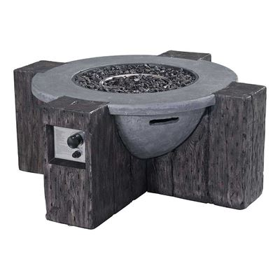 Picture of Hades Propane Fire Pit Gray *D