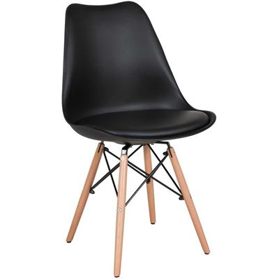 Picture of Aksel Black Molded Chair