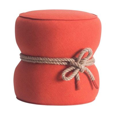 Picture of Tubby Ottoman Orange *D