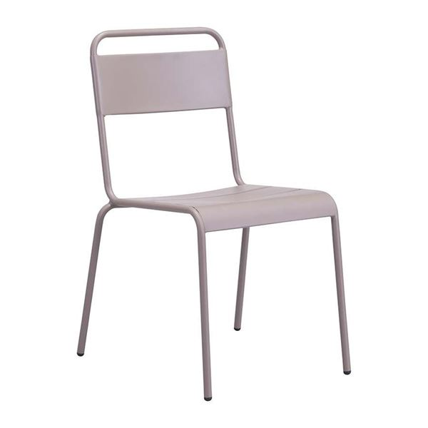 Oh Dining Chair Taupe Zuo Modern Contemporary