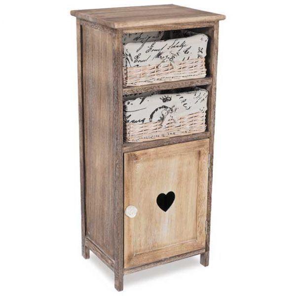 Antique Brown Cabinet