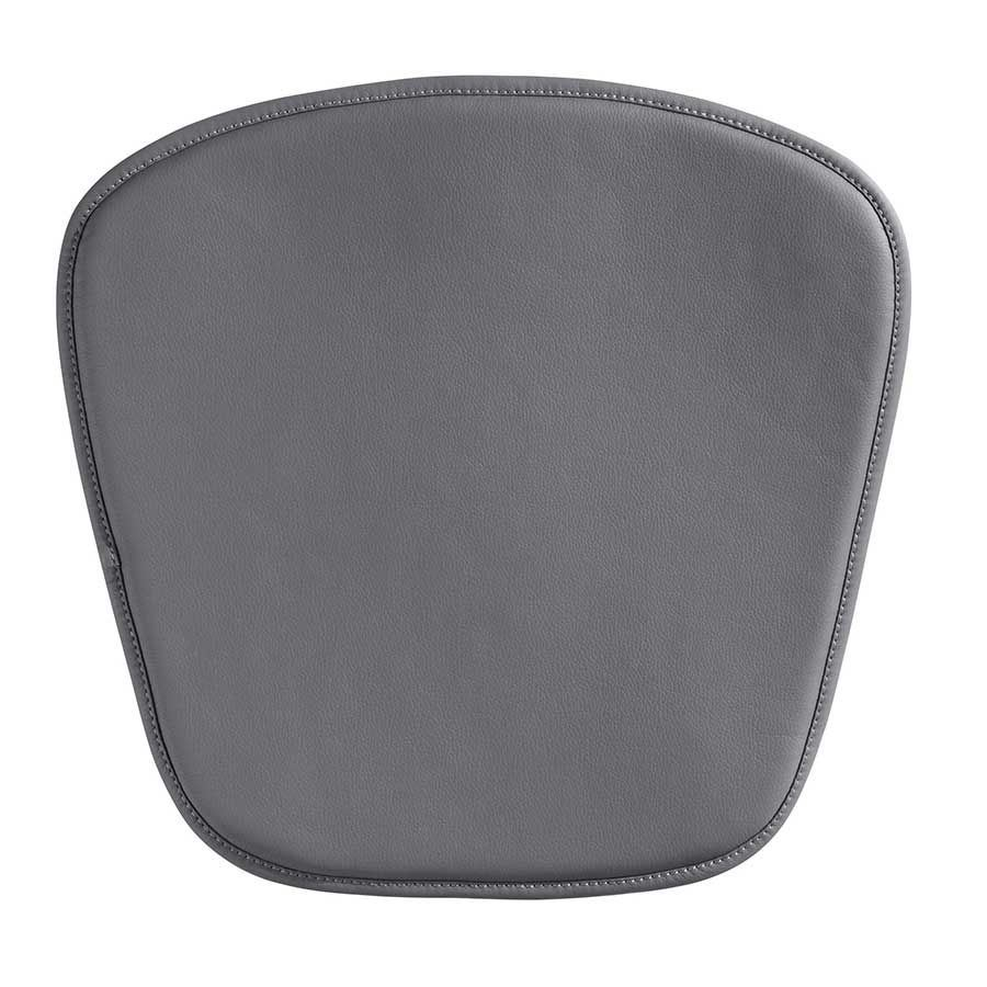 wire mesh chair cushion gray 188009 zuo modern contemporary afw. Black Bedroom Furniture Sets. Home Design Ideas